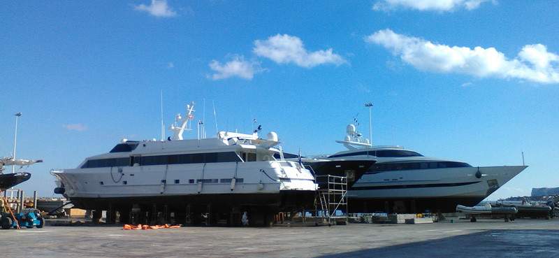 Superyacht Dry Dock