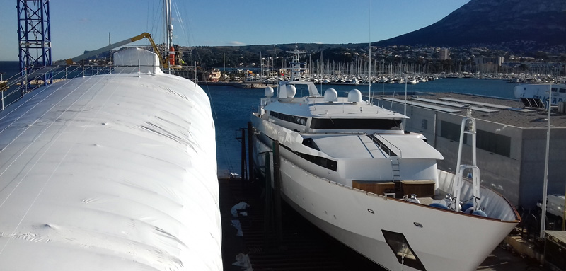Superyacht Haul Out